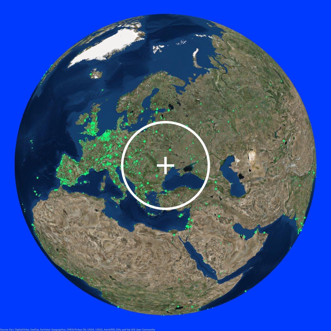 Radio Garden Radio Moldova - Moldova interactive map